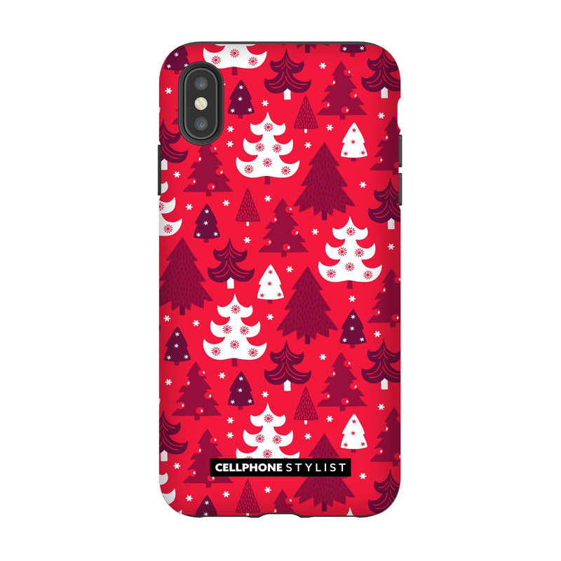 Oh Tannenbaum! (iPhone) - Phone Case iPhone XS Max Tough Gloss - Cellphone Stylist