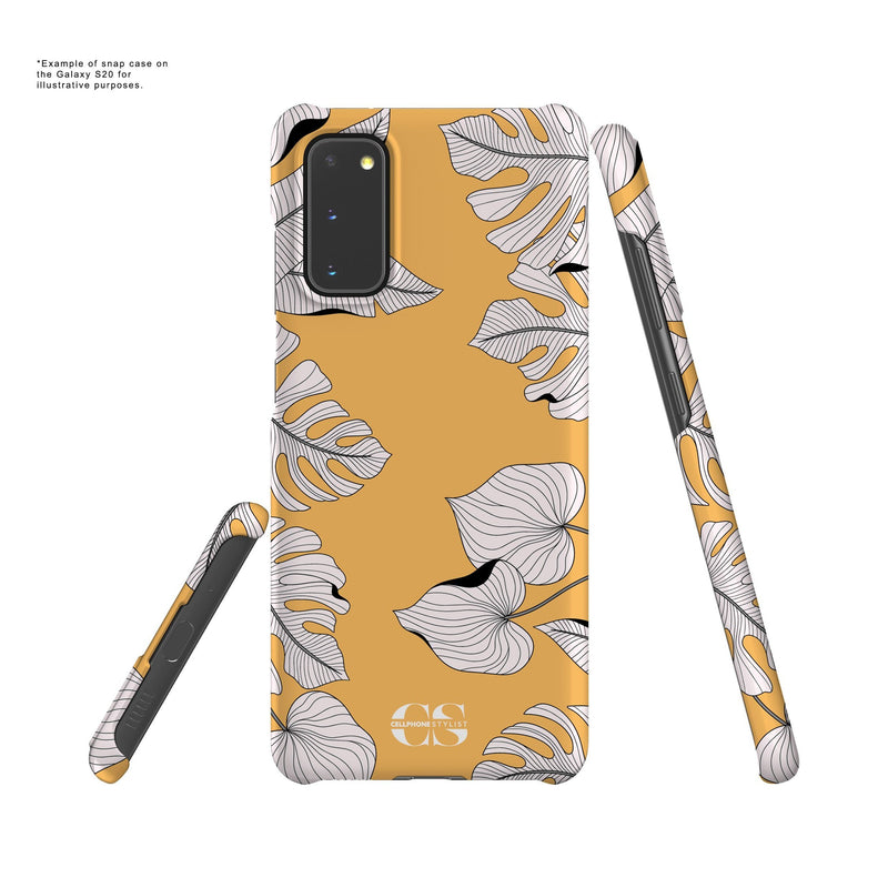 Tropical Pop Art - Orange (Galaxy) - Phone Case - Cellphone Stylist