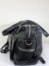 Load image into Gallery viewer, Noir Day & Mood Leather Bag