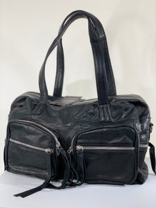 Noir Day & Mood Leather Bag