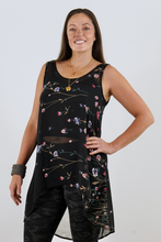 Load image into Gallery viewer, Sheer Floral Tank