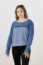Load image into Gallery viewer, Blue Line Sweater