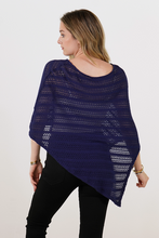 Load image into Gallery viewer, Asym Open Poncho