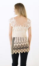 Load image into Gallery viewer, Cora Crochet Top