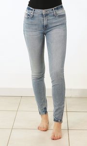 Angel of the Morning - Amber Zipper Skinny