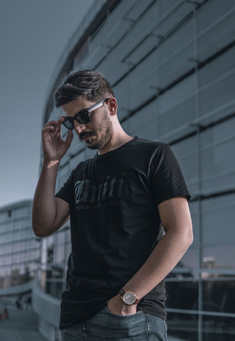 man-in-black-crew-neck-t-shirt-wearing-black-sunglasses