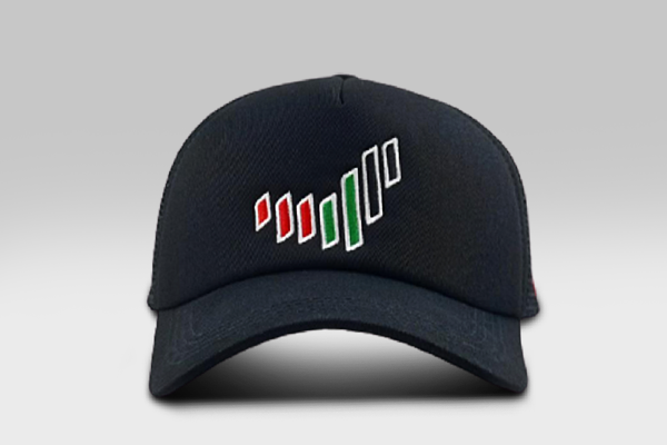 UAE Nation Brand Cap - Black -Large