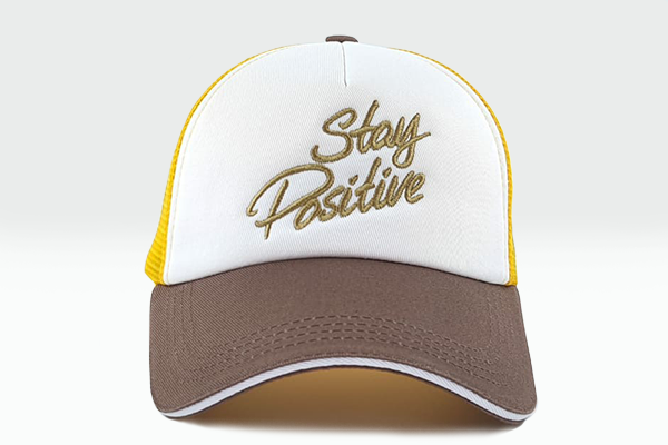 Foxerz cap multicolored StayPositive frontal view
