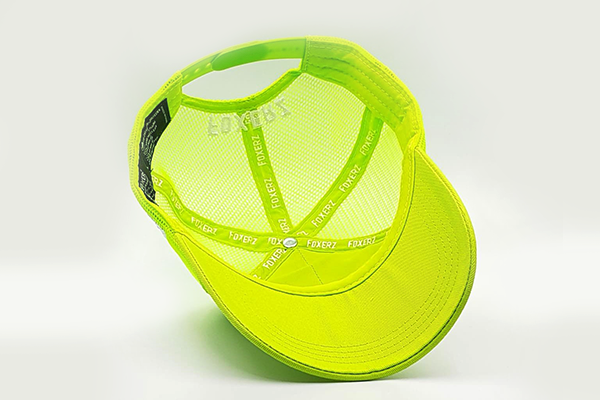 foxerz cap for women line-yellow overturned view
