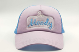 foxerz cap Gray/SkyBlue So_Moody frontal view