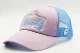 foxerz cap Gray/SkyBlue So_Moody sidelong view