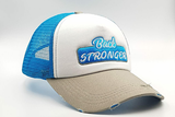 foxerz cap multicolored Back_Stronger other sidelong view