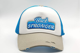 foxerz cap multicolored Back_Stronger frontal view