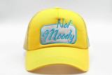 foxerz cap for women Yellow Not_Moody frontal view