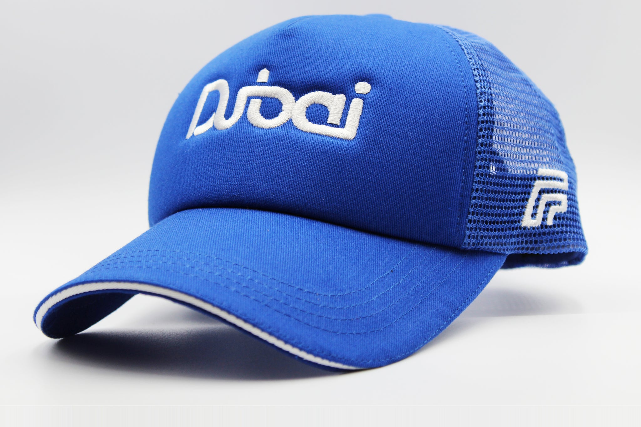 The Stylish Dubai's Logo Cap - Blue