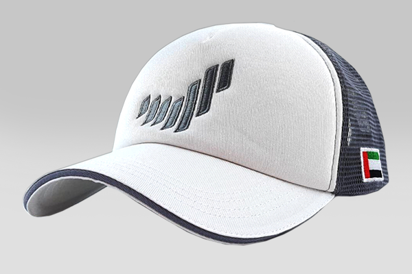 The UAE National Brand Cap - Grey | Large