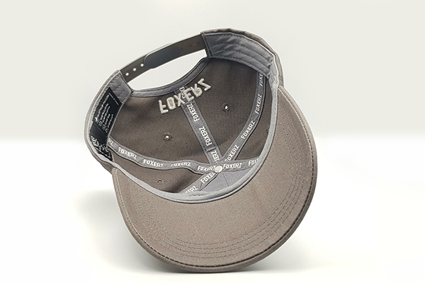 Classic foxerz grey cap overturned view