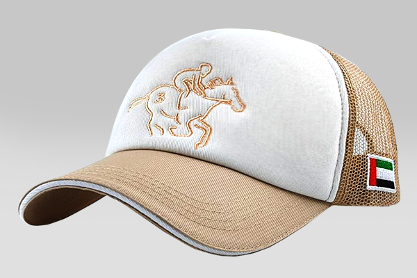 The Horseman Cap - Beige | Large