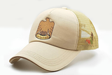 The UAE official emblem cap beige sidelong view