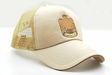 The UAE official emblem cap beige other sidelong view