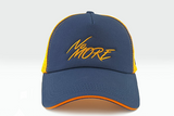foxerz cap Navy blue-Orange No_More frontal view