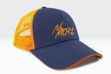 foxerz cap Navy blue-Orange No_More other sidelong view