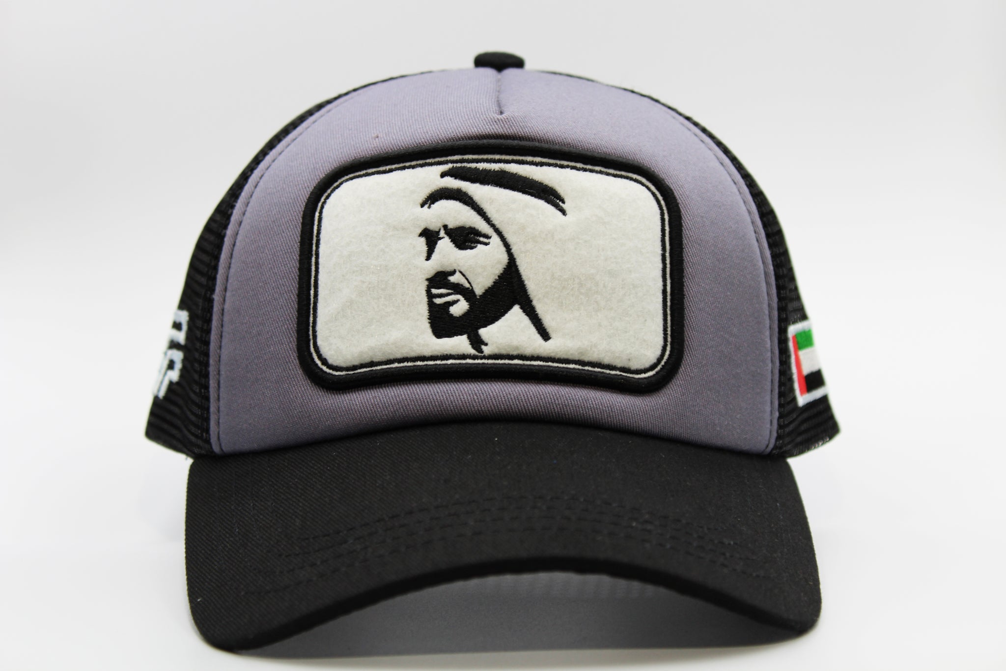 HH Sheikh Zayed Cap - Black