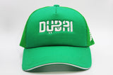 Foxerz Dubai green cap front-side view
