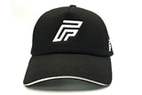 Foxerz logo black cap frontal view