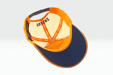 foxerz cap Navy blue-Orange No_More overturned view