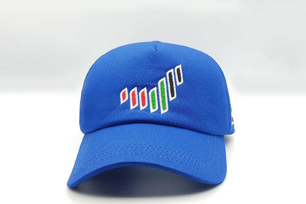 The UAE nation brand blue cap frontal view