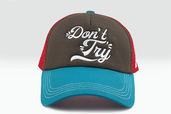 Foxerz cap multicolored Donnot_Try frontal view