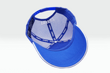 The Fox Logo blue cap overturned view