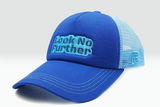 Foxerz cap blue Look_No_Further sidelong view