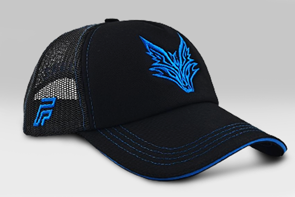 Fox Cap - Black / Blue