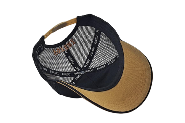 The Dubai Cap - Gold & Black | Large