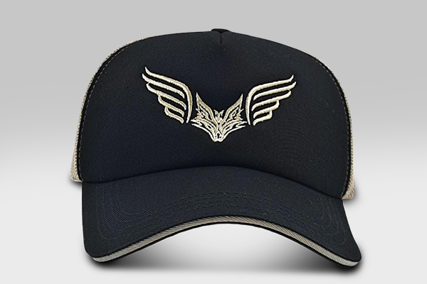 Fox Wings  - Gold and Black | Large