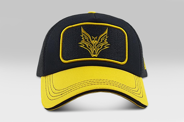 The Fox Cap - Yellow/Black