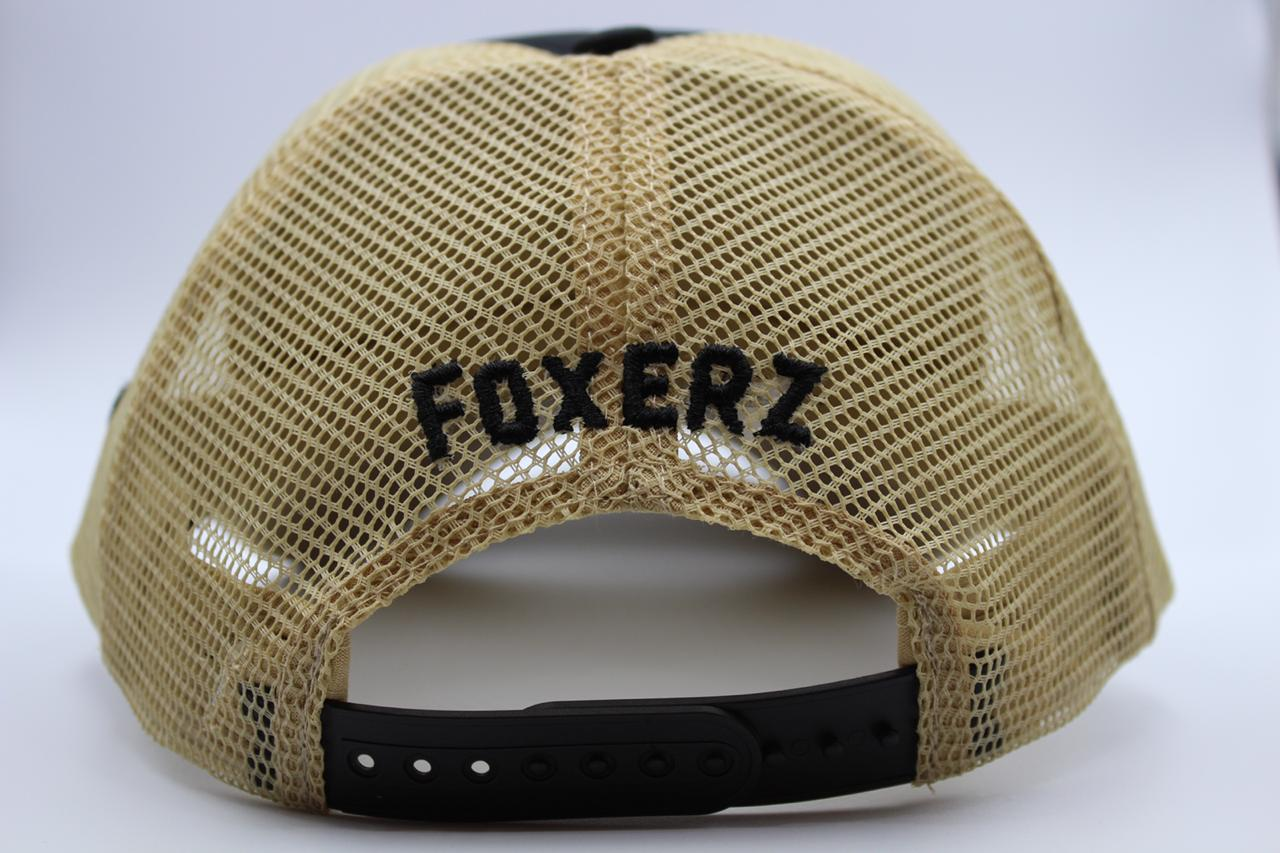 foxerz black-beige cap Dubai back-side view