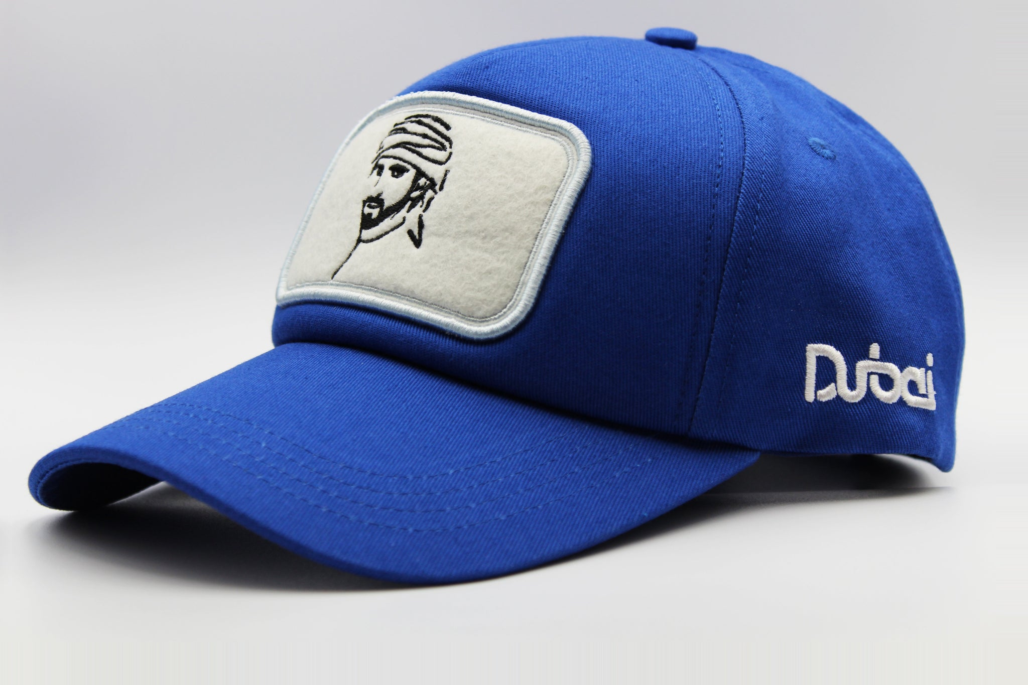 fazza cap blue by Foxerz sidelong view
