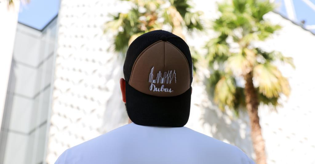 Dubai cap brown-black Foxerz model