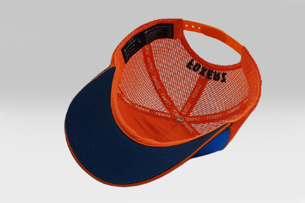 Just Be Cool Cap - Blue/Navyblue/Orange | Large