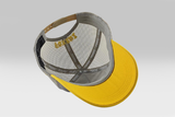 No Worries Cap - Grey/Yellow