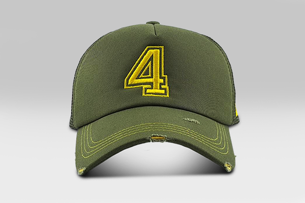 NO 4 Cap - Green | Large