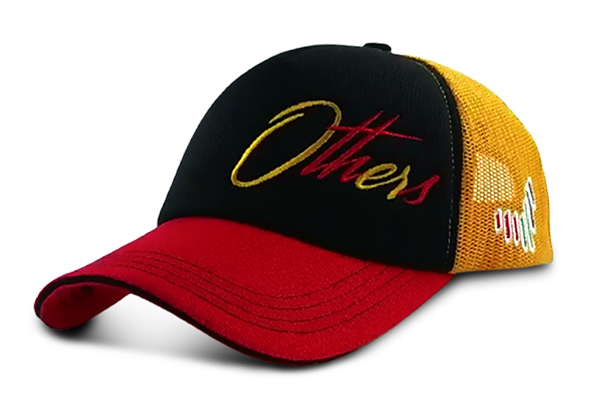 The Others Cap - Red,Black,Orange | Large