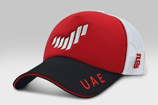 The UAE Brand Cap - Red and White | Large