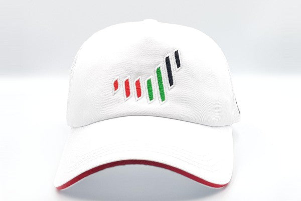 The UAE nation brand frontal cap sidelong view