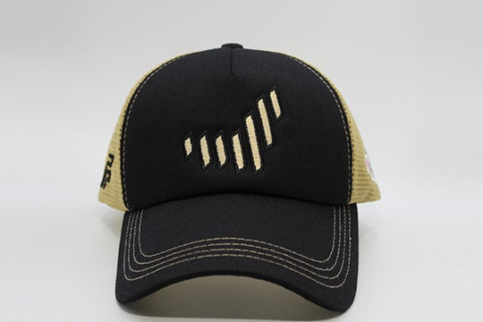 The UAE nation brand black/gold cap frontal view
