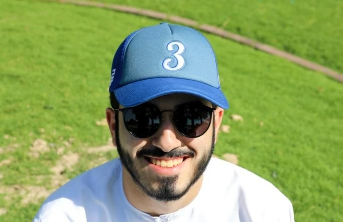 Number 3 Cap - Blue