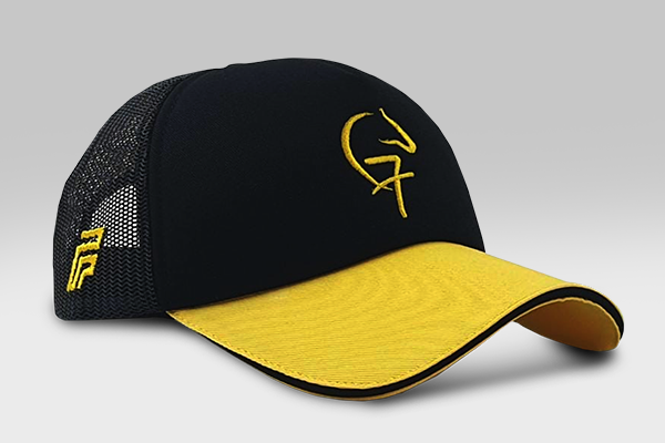 Fazza Cap F3- Yellow and Black F7 Horse Cap